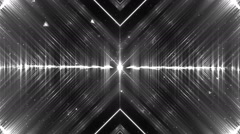 Audio silver equalizer. - stock footage