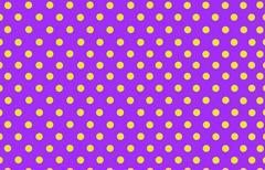 White polka dot with violet background Stock Illustration