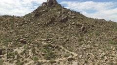 Scottsdale AZ peak Stock Footage