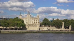 The Tower of London (in 4k), London, UK. Stock Footage