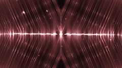 Audio red equalizer. Stock Footage