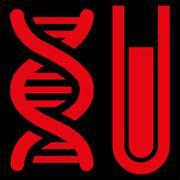 Genetic Analysis Icon Stock Illustration