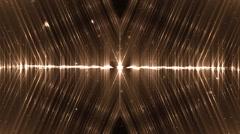 Audio orange equalizer. - stock footage