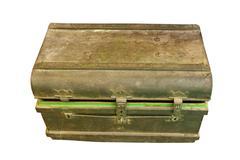 Ancient metal box ,treasure Chest Kuvituskuvat