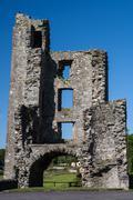 Mellifont Abbey - stock photo