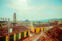 Stock Photo of TRINIDAD, CUBA - SEPTEMBER 8, 2015: designated a World Heritage Site by UNESCO