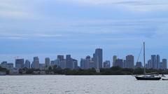Miami,Downtown Miami USA - stock footage