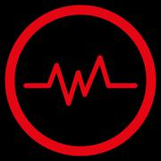 Pulse Monitoring Icon - stock illustration