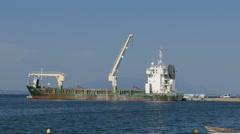 Bulk carrier. Stock Footage