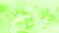 4k Clean Green Triangles Abstract Background Animation Seamless Loop. - stock footage