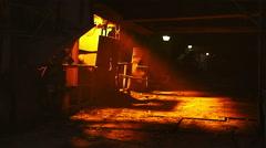 Ferrous metallurgy Stock Footage