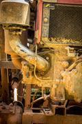 Stock Photo of Engine details. Diesel engine. Motor