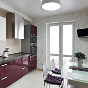 Modern kitchen interior Stock Photos