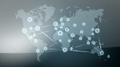 World wide web network 7 Stock Footage