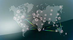 World wide web network 13 Stock Footage
