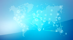 World wide web network 15 Stock Footage