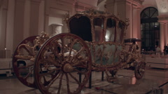 Vienna Carriage Slow Pan Stock Footage