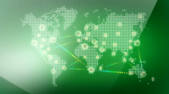 World wide web network 23 Stock Footage