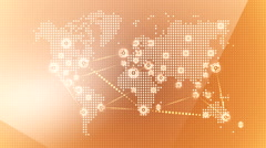 World wide web network 27 Stock Footage
