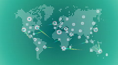 World wide web network 34 Stock Footage