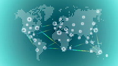World wide web network 36 Stock Footage