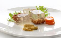 Beef aspic - stock photo