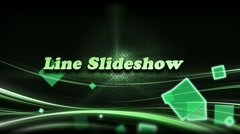 Stock After Effects of LineSlideShow