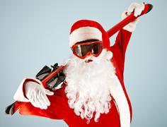 Active Santa Stock Photos