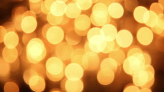 Flashing christmas lights bokeh seamless loop background Stock Footage