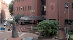 Birmingham Crown Court Queen Elizabeth ii law courts. Stock Footage