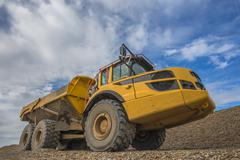 Stock Photo of Construction truck