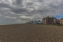 Stock Photo of Aldeburgh beach