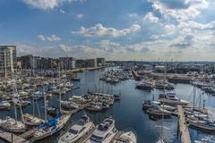 Stock Photo of Ipswich Harbour