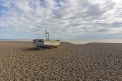 Stock Photo of Fishing boat on the beach