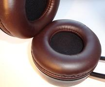 Leather Ear Pads Stock Photos