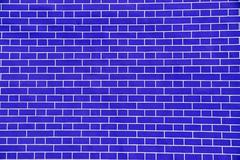 Stock Photo of Blue brick shape abstract background.