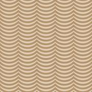 Brown Wavy Stripes Tile Pattern Repeat Background - stock illustration