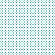 Teal and White Polka Dot  Abstract Design Tile Pattern Repeat Background - stock illustration