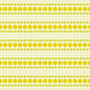 Yellow and White Polka Dot  Abstract Design Tile Pattern Repeat Background Stock Illustration