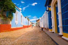TRINIDAD, CUBA - SEPTEMBER 8, 2015: designated a World Heritage Site by UNESCO - stock photo