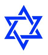 Star of David - stock illustration