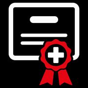 Certification Icon - stock illustration