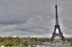 Eiffel Tower , Paris - stock photo