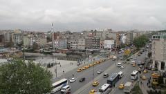 Ata Turk Avenue, Istanbul Stock Footage