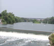 The Grand River Stock Footage