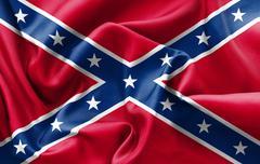 Confederate Flag - stock illustration