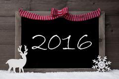 Stock Photo of Gray Christmas Card, Snow, Loop, Happy Weekend