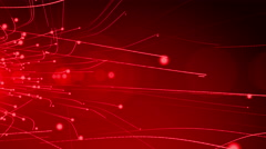 4k Red Streaks Light Abstract Animation Background Seamless Loop. - stock footage