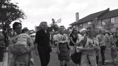 Bloor West Village Ukrainian Festival 2015, Toronto Stock Footage