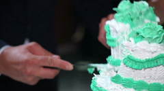 Piece of cake Stock Footage